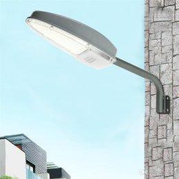 Lámparas de brazo online-Lámpara 30W 2400LM Farola del sensor 144 de luz LED de luz Garden Road AC85-265V impermeable al aire libre de Seguridad de pared con brazo de montaje