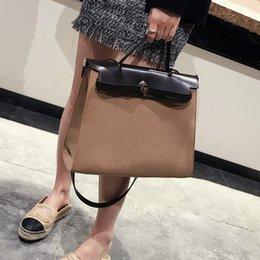 weinlese einkaufstaschen europäisch Rabatt European Fashion Weibliche Big Tote Bag Neue Frauen Designer Handtasche Qualität Pu-leder Frauen Schulter Messenger Bags