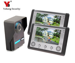 "Deutschland Yobang Sicherheit Apartment Türsprechanlage Kit Wired 7 ""Display Monitor Video Intercom Türklingel Entry System Für Home Security Versorgung"