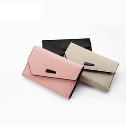 Rosa wallet koreanisch online-Luxus Echtes Leder Brieftasche Frauen Kurze Rosa Koreanische Geldbörse Dropshipping Neue 2018 Heißer Verkauf Bolsos Para Mujer Con Diseno Perro