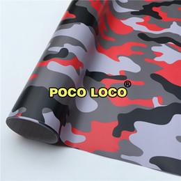 Lager Red Tiger Camuflaje Vinyl Wrap extraíble Diseños únicos, Honest Pricing Car, Truck, Van, Trailer Wraps desde fabricantes