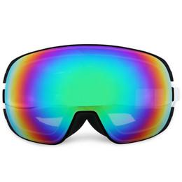 Альпинистские очки онлайн-ROBESBON лыжные очки новый стиль близорукий стеклянный сноуборд для мужчин женщин альпинизм очки двойной слой Антифог