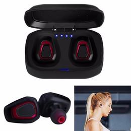 A7 TWS Bluetooth Auricolare stereo auricolare Sport Auricolare Bluetooth 4.2 Auricolari con scatola di ricarica per iphone Android da auricolari piatti colorati fornitori