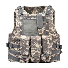 veste de combat de l'armée Promotion Camouflage homme veste camo armée gilet déchargement homme protection équipement de combat swat vestes