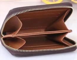 carteras de hombres con estilo Rebajas CARTERA ZIPPY VERTICAL la forma más elegante de transportar dinero, tarjetas y monedas hombres del diseño del bolso de cuero titular de la tarjeta de negocios a largo famosa