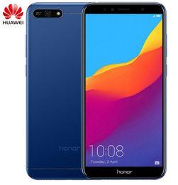 cdma 32gb Promotion Huawei Honor 7A 3GB 32GB 5.7 pouces empreinte digitale empreinte digitale Snapdragon 430 Octa Core Avant 8.0MP Double caméra arrière 3000mAh