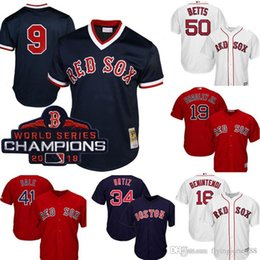 c60e8427d35 Retro Mesh Boston Top Red Sox Ted Williams Jersey Men s Majestic Scarlet  Cool Base Player Jersey Embroidery Baseball Jerseys M-XXXL