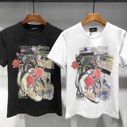 DSQUARED2 D2 DSQ2 Marques nouvelles Hip Hop icône mens t-shirt à manches courtes en coton tops tee shirt poloshirt shirt hommes teel hip 3g Designers hommes femmes t shirts dt348 ? partir de fabricateur