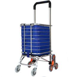 Carrello portatile pieghevole in alluminio Carrello spesa + Carrello girevole cheap shopping cart folding wheel da carrello pieghevole carrello di acquisto fornitori