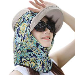 2019 chapéus de sol dobráveis mulheres Moda Feminina Verão Chapéus Palas de Sol Cap Dobrável Anti-UV Ao Ar Livre Praia Esporte Chapéu BHD2 chapéus de sol dobráveis mulheres barato