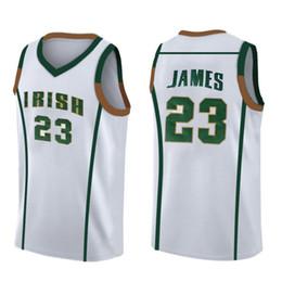 Wholesale NCAA Джеймс Майкл Лучшие продажи Mens James University112266 Blue White Дешевые оптовые вышивки Высокое качество GGH