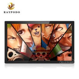 Raypodo 27 polegadas tela Full HD LED digital signage publicidade jogador back-light para o restaurante usando de Fornecedores de tela branca do quadro de foto