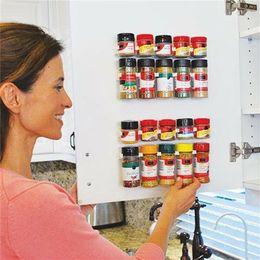 porte-épices Promotion 20 clip cuisine épice pince pince bande rack support de stockage porte armoire murale