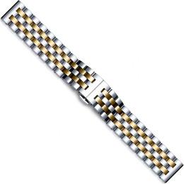 2019 vente chaude sélection de système multicolore populaire élégant tout en acier solide solide cinq perles montre ceinture papillon boucle bracelet en acier inoxydable ? partir de fabricateur