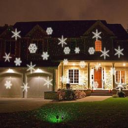 2019 signos margaritaville Lámpara de césped con copos de nieve Iluminación navideña Decoración navideña Iluminación exterior para interiores Lámpara LED de proyección de copos de nieve LED impermeable
