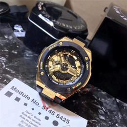 Mejores relojes digitales impermeable online-2019 Best Selling Sports Watch AAA Luxury G Style Relojes deportivos militares Reloj de regalo de Navidad Digital LED Hombre Hombre Reloj impermeable