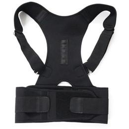 Männer Schützen Sie die Rückenhaltung Korrekte Stütze Verstellbare Weste Rückenlehne Haltung Schultergurt Körper Tierärzte Corrector M-XXL # 213297 von Fabrikanten