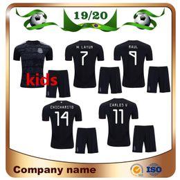 de4ff86cb3b 2019 Copa America Mexico Kids Kit Soccer Jersey 19 20 Home Black CHICHARITO  H.LOZANO Child Soccer Shirt M.LAYUN CARLOS V Football Uniforms discount  mexico ...