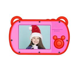 экран dslr Скидка VODOOL K6 мини Chidren видеокамера 8X цифровой зум 2.7-дюймовый экран 18MP DSLR камеры видеокамеры рекордер для детей подарок