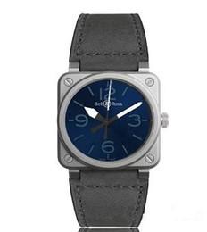 Relógios de quartzo quadrados militares on-line-Famosa marca br men watch montre homme suíça moda sports militar relógios de quartzo homens quadrado feminino relógio relogio masculino