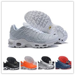 2019 New Plus Mens Running Shoes Hihg Quality men Tn White Yellow Red Blue  Sports chaussure homme Trainers Sneakers ef910e3cb