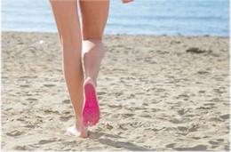 Открытый пляжная обувь Nakefit подошвы летние невидимые пляжные туфли Nakefit ноги ноги колодки придерживаться йога колодки серфинг пинетки бесплатная доставка cheap surfing pad от Поставщики доска для серфинга