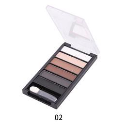 tiras nuas Desconto Paleta da tira da sombra de 6 cores Pearlescent Matte Nude-border Makeup --- MS