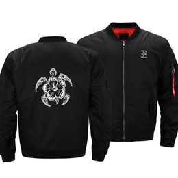 Benutzerdefinierte lederjacken männer online-Custom logo Schildkröte-Muster Lederärmel Baseball Stickerei Jacke aus 100% Polyester aufzuwärmen windproof dicke Jacke für Mann