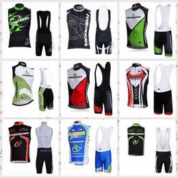 MERIDA Pro Team Men Ciclismo Jersey Chaleco sin mangas Conjunto Maillot baberos cortos Ropa de bicicleta Camisa de secado rápido Ropa Traje 522016 desde fabricantes