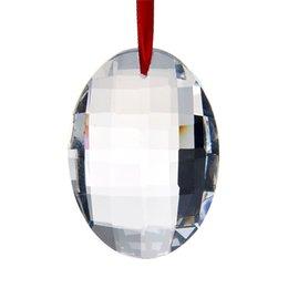 45mm Round Clear Crystal Prisms Suncatcher Pendants Decor Accessories For Chandelier Parts DIY Home Wedding Decor Accessories