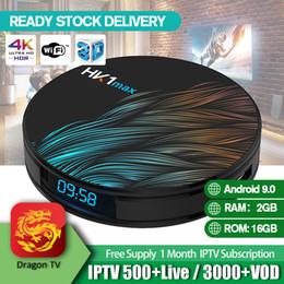 2019 4k tv 3d HK1 Max 4K TV ultra intelligente Android 9.0 TV Box RK3328 2.4 Wifi 1080P Full HD 4K H.265 Film en streaming avec tv box 4k tv 3d pas cher