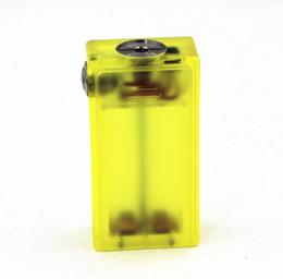 2019 mods de caja no regulados ABS no regulado Mod Mod Mech Mod Mod Power por 2 * 18650 Rosca de la batería 510 rebajas mods de caja no regulados