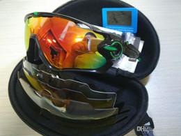 2020 gafas de sol jawbreaker 2017 nueva marca caliente Jawbreaker gafas de sol polarizadas 5 unids lente gafas de sol mujeres hombres deporte bicicleta gafas de sol gafas 17 colores gafas de sol jawbreaker baratos