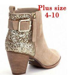 Сексуальная девушка подарки онлайн-Женщины пинетки моды платье сапоги Sexy Girl Party Ботильоны Chirstmas Подарки дизайнерские Обувь Австралия Зимние сапоги Размер US4-12