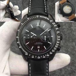 Orologio meccanico più cool online-Cronometro da uomo di lusso di nuovo stile Orologio freddo 41,5 millimetri automatico meccanico cinturino in acciaio inossidabile orologio da uomo moda calendario calendario di vigilanza