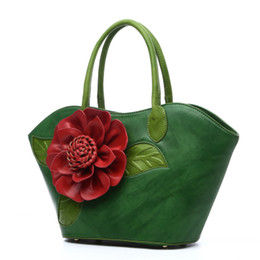 hand bags new types Coupons - Fashion women's bag 2019 new dumpling type clash-colored hand-held single shoulder slant with flowers wrapped in white
