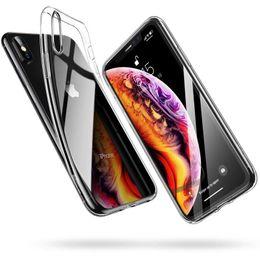 2019 iphone прозрачный гибкий Кристально чистый мягкий чехол TPU для iPhone X гель ультра тонкий прозрачный гибкий чехол для iPhone XS-5,8 дюйма скидка iphone прозрачный гибкий