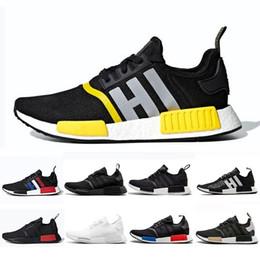 bce28ac580b08 2019 atmos Thunder Bred Running shoes OREO Runner Primeknit OG atmos Japan  Triple black White Men Women beige Runner Sports sneakers 36-45