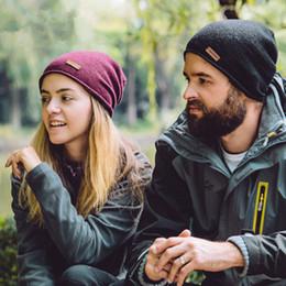 Laufmütze online-Beanies Unisex Strickmütze Mode Wolle Warme Winter Ski Hut Designer Komfortable Laufhüte Frau Headwears ZZA909