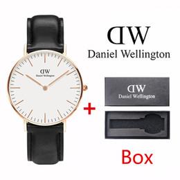2019 dw daniel wellington DW relógio designer Daniel Wellington homens relógio 40mm senhoras 36mm casal relógio de ouro clássico senhoras relógio montre femmea wistwatches caixa livre desconto dw daniel wellington
