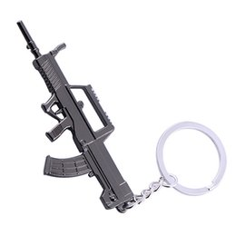 Deutschland Neues spiel M16 Neuheit Artikel Guns Keychain anhänger Schmuckstück Sniper Schlüsselanhänger 10 arten Schmuck Souvenirs Geschenk Männer A081 supplier souvenir pendants Versorgung