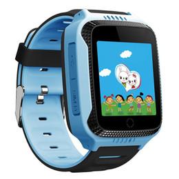 2019 мобильный монитор iphone Q528 Y21 дети Смотреть камера сенсорный экран SOS место вызова детские часы дети смарт-часы GPS трекер SmartWatch