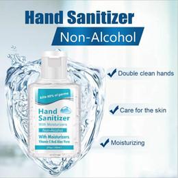spray nano argent Promotion 60ml Sanitizer Portable alcool main Gel antibactérien hydratant liquide à usage unique No Clean Hand Gel sans eau antibactérien