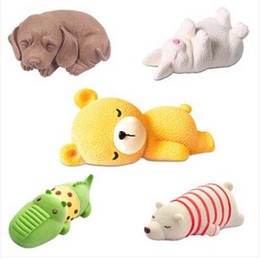 dog silicone cake mould Promo Codes - Free shipping Wholesales 3D Shar Pei Dog 3D Bear Silicone Fondant Mould Cake Topper Sugarcraft Chocolate Icing Mold