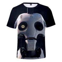 robôs do amor Desconto Amor, DeathRobots 2019 3D tshirt Homens / Mulheres Verão Harajuku T-shirt Camisolas 3D T-shirt Amor, DeathRobots.