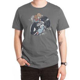 Бомбовые шляпы онлайн-Футболка Love the Bomb доктор капля войны бомбардировка ковбойская шляпа видеоигры фильмы кино асфальт юмор