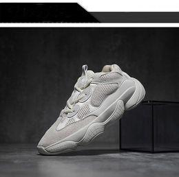 edb472673e82 Newest 500 YEOZ Desert 500 men super moon Yellow blush 500 Women Black  sneaker sports shoes free shipping loafers Boots