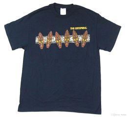 shirt neues designbild Rabatt Nachkommen Tiki Image Design Navy Blue T-Shirt New Official Band Merch