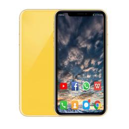 senioren handys Rabatt Entsperrt Goophone XR XS MAX Gesicht ID MTK6580 Quad Core 1 GB RAM 4 G / 16 GB ROM drahtlose Aufladung Android 3G SmartPhone
