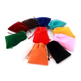 2019 sacos de organza de cetim por atacado 5pcs / lot 10 * 12 centímetros Coloful saco de veludo de jóias Embalagem com cordão Bolsas Cartões Bolsas podem personalizado para a carga extra e quantidade